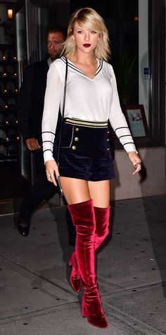 Where to Buy the Over-the-Knee Boots That Gigi Hadid, Taylor Swift, and More Love - Taylor Swift from InStyle.com