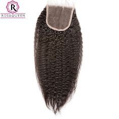 58.00$  Watch here - http://ali3t2.worldwells.pw/go.php?t=32791727498 - Brazilian Virgin Hair 4X4 Lace Closure Kinky Straight Brazilian Human Hair Lace Closure Bleached Knots Unprocessed Lace Closure 58.00$