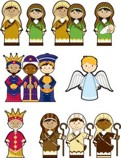 graphic regarding Printable Nativity known as Nativity Printables