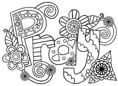 Flower Coloring Pages, Mandala Coloring Pages, Coloring Pages For Kids, Adult Coloring, Photo Buttons, Flower Doodles, To Color, Frame It, Etsy Handmade