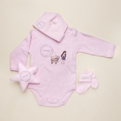 29 best personalized baby gifts images on pinterest personalized perfectly pretty personalised clothing set for baby girl the perfect baby shower gifts by negle Images