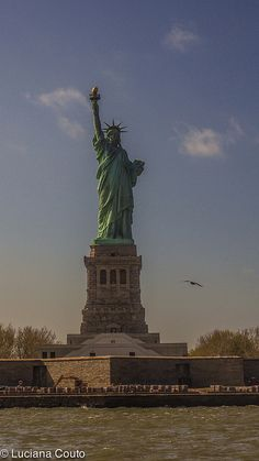 Lady Liberty....I'm waiting to visit you.