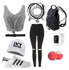 """""""Untitled #26"""" by teddybeariz on Polyvore featuring Topshop, adidas, Lauren Ralph Lauren, Eos and Ivy Park"""