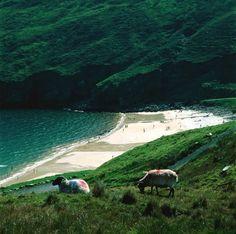 Keem Bay on Achill Island Co. Mayo