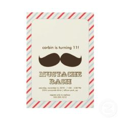 mustache party decorations - Google Search