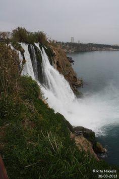 Waterval Antalya-Turkije