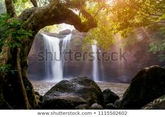 Find Beautiful Waterfall Sunlight Jungle Haew Suwat stock images in HD and millions of other royalty-free stock photos, illustrations and vectors in the Shutterstock collection. Thousands of new, high-quality pictures added every day. Royalty Free Images, Royalty Free Stock Photos, Beautiful Waterfalls, Stock Foto, Sunlight, Illustration, Photo Editing, Artist, Pictures