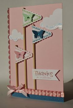 1000 images about cards thank u on pinterest thank you for Stampin pretty craft room