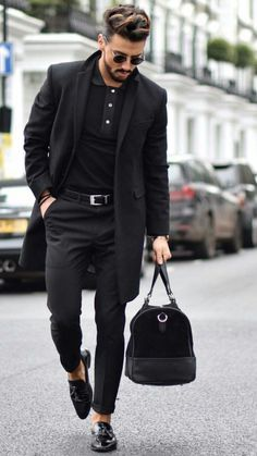 Znalezione obrazy dla zapytania mens fashion black clothes #mensfashionsecrets