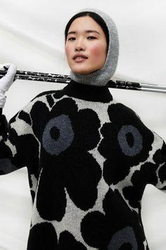 Marimekko Herbst/Winter Ready-to-Wear - Kollektion 1980s Fashion Trends, 60 Fashion, Summer Fashion Trends, Knit Fashion, Fashion 2020, Fashion News, Korean Fashion, Fashion Show, Autumn Fashion