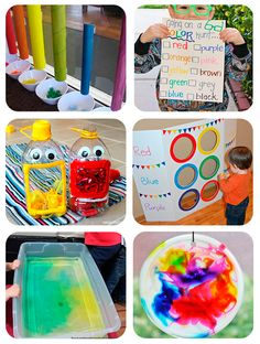 Juegos educativos colores