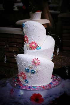 topsy wedding cake