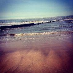 Beach looked pretty