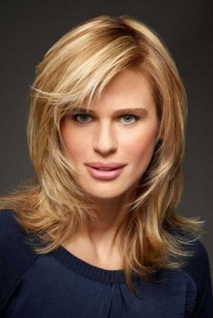 Coupe de cheveux fille blonde