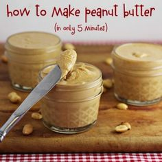 How to Make Peanut Butter (in only 5 minutes) #SundaySupper - Home Cooking Memories