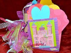 Handmade Disney paper bag scrapbook album autograph book for girl #Handmade