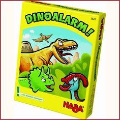 Haba kaartspel Dinoalarm geheugenspel