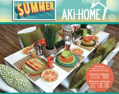 Set for #Summer at #AkiHome