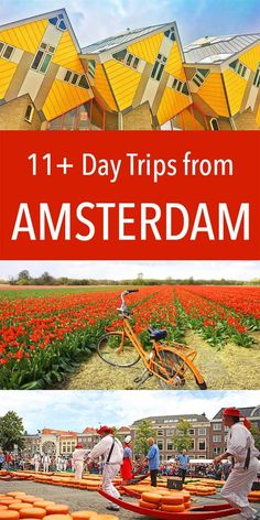 Day Trips From Amsterdam, Visit Amsterdam, Amsterdam City, Amsterdam Travel, Amsterdam Netherlands, Holland Netherlands, Travel Netherlands, Amsterdam Winter, Amsterdam Itinerary