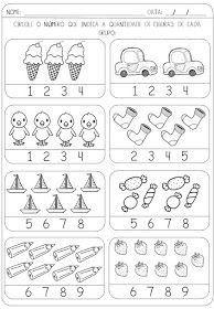 Homeschool Worksheets, Printable Preschool Worksheets, Kindergarten Math Worksheets, Homeschooling Resources, Preschool Writing, Numbers Preschool, Preschool Learning Activities, Math For Kids, Free Images