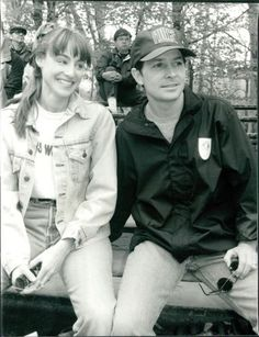 CA41-1992-Young-Cute-Tracy-Pollan-Husband-Actor-Michael-J-Fox-Press-Photo