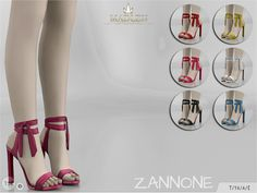 Madlen Zannone Shoes by MJ95 at TSR • Sims 4 Updates