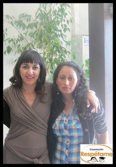 Renata Bravo, apoyando la campaña No Más Bullying Faces