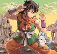 Yamcha & Puar - Dragon Ball   by JOHNNY