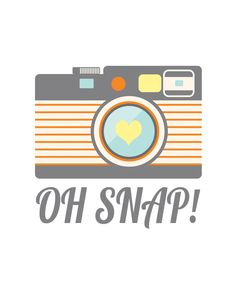 Free Oh Snap! Printable from No. 2 Pencil