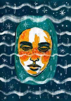 Untitled Portrait by Livia Falcaru tumblr: http://lf-illustration.tumblr.com facebook: https://www.facebook.com/lfillustration instagram: https://www.instagram.com/liviafalcaru