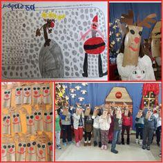 """...Το Νηπιαγωγείο μ' αρέσει πιο πολύ.: Παιχνιδοτράγουδο:Οι τάρανδοι χορεύουν χόκυ πόκυ"""" Christmas Crafts, Blog, Painting, School, Art, Ideas, Handmade Christmas Crafts, Craft Art, Xmas Crafts"""