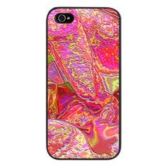 Abstract Pink and Gold iPhone 5 Case by All Kinds of Cases. #pink #iphone5 #Iphone5case #abstract
