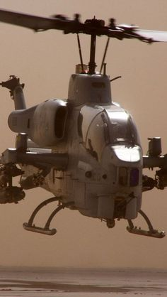 AH-1 Cobra First copter designed solely as a weapon rather than troop ship with add on weapons.