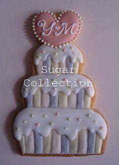 Wedding Cookie 1 by JILL's Sugar Collection, via Flickr