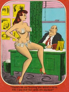 The most sexist and funny comics of Dan DeCarlo - Flashbak