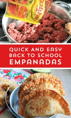 Empanadas All your favorite tacos fixings in an easy to hold empanada.All your favorite tacos fixings in an easy to hold empanada. Mexican Dishes, Mexican Food Recipes, Back In The Game, Good Food, Yummy Food, Comida Latina, Ground Beef Recipes, Turkey Recipes, Appetizer Recipes