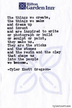 Typewriter Series #503by Tyler Knott Gregson