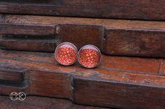 kolczyki - wkrętki - sztyfty z autorską grafiką 11 - MartaRudnicka - Kolczyki wkrętki