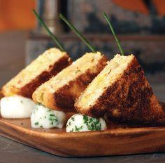 Toasted Pimento Cheese Points - Atlanta Magazine