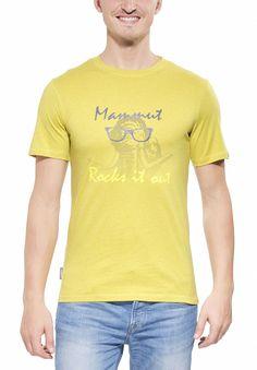Das Massone T-Shirt Men aus bioRe-Biobaumwolle mit Elasthan zeigt einen coolen Mammut-Print auf der Brust.  Bio-Baumwolle: Unternehmensverantwortung umfasst die ganze Zulieferkette bis hin zum Baumwollfeld. Deshalb verwendet Mammut für die Climbing-Produktlinie Biobaumwolle aus fairer und nachhaltiger...  • Zusatzinformation: - BioRe Organic Cotton - Mammut-Logo-Print • Größeninformation: G...