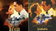 Wedding gets Hollywood makeover as bride and groom star in iconic movie posters