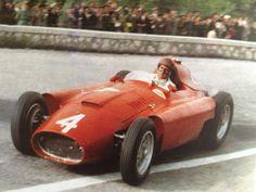 1956 Juan Manuel Fangio - Ferrari D50