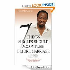 If you desire to get married you need to read and apply this book to your life.