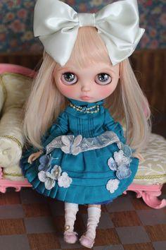 *mumu*カスタムブライス・青い蝶の君_画像10