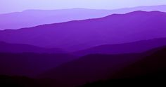 """""""Purple Mountains,"""" by atkinson000, via Flickr -- Majesty, indeed. [According to the tags, these are the Shenandoah Mountains.]"""