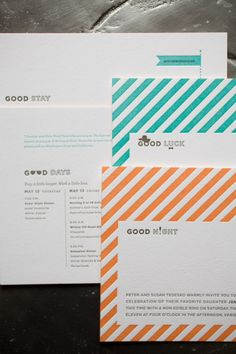 Like these invites.    Style Me Pretty | Gallery | Picture | #638568