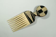 #african #comb #pattern