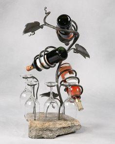 Custom Made Table Top Wine Rack
