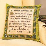 Irish Blessing Cushion Cover