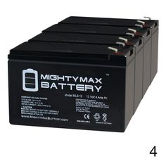 ML9-12 SLA is a 12-Volt 9 Ah sealed lead acid (SLA) rechargeable maintenance free battery. Terminal: F2, listing is for the battery only, no wire harness or mounting accessories included. SLA/AGM spill proof battery has a characteristic of high discharge rate, wide operating temperatures, long service life and deep discharge recover. Rechargeable battery that can be mounted in any position, resists shocks and vibration, long-lasting high performance in high and low temperatures. 4 Pack… Swing Gate Opener, Adt Security, Ups Power, Mighty Max, Power Backup, Battery Terminal, Portable Fan, Battery Sizes, Emergency Lighting